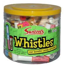 Swizzels Candy Whistles (1 x 60) by Swizzels
