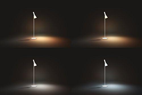 Philips Hue LED Stehleuchte Explore, dimmbar, alle Weißschattierungen, steuerbar via App, kompatibel mit Amazon Alexa (Echo, Echo Dot), weiß
