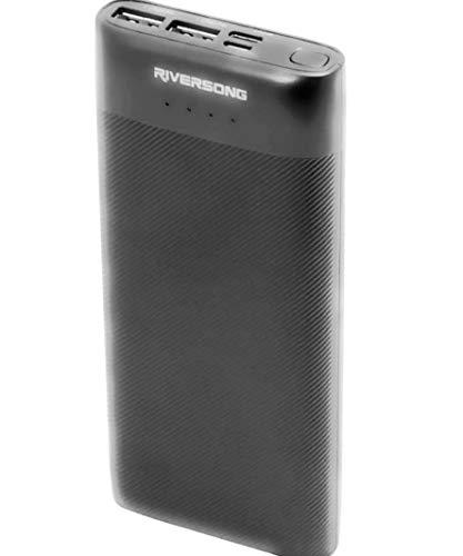 Riversong Powerbank  15000 mAh, Input: DC 5V/2A, Output: DC 5V/2.4A, Port: Micro + Type C + USB A*2