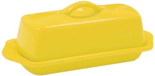 Chantal Butter Dish Canary Yellow