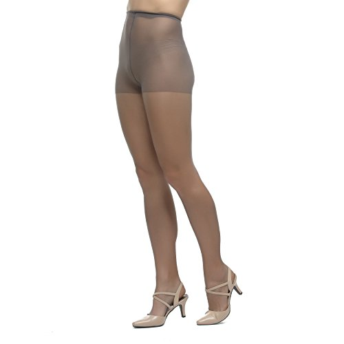 7e49975ac53ea LadyDorset Thin Chiffon Sheer Pantyhose - Soft and Elegant - Hosiery for  Women - 2 Pairs