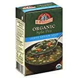 Dr. Mcdougall's Right Foods Soup, Organic, Split Pea, Lower Sodium, 17.6 Oz. (Pack of 4)