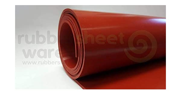 """Silicone Rubber Sheet High Temp 1//16/"""" Thick x 12/"""" wide x 12/"""" long FREE SHIPPING"""