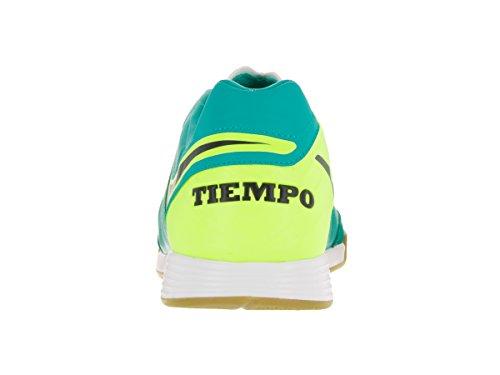 Nike Tiempox Mystic V Ic, Botas de Fútbol para Hombre Verde (Clear Jade / Black-Volt)