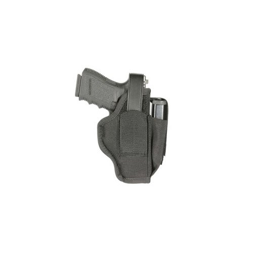 Blackhawk Sportster Ambidextrous Gun Holster with Mag Ammo Pouch, 5