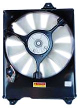 TYC 610470 Toyota Sienna Replacement Condenser Cooling Fan Assembly