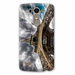 Amazon.com: Case Carcasa LG K10 France - - paris nuage B ...