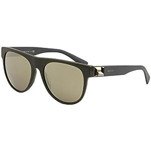 Versace  Men's VE4346 Green/Light Brown Mirror Gold One Size