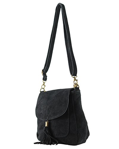 ge In La Nero Histoiredaccessoires Pelle flavia Tracolla Con Donna Bag Sa011321 oe 1OR8fT
