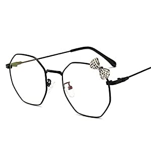 Yangjing-hl Espejo Plano Personalidad Arco Espejo Decorativo Gafas ...