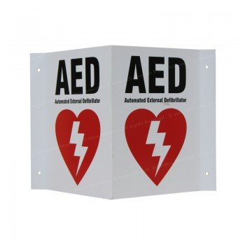 AED Wall Sign - HeartSine