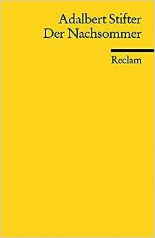 Book Der Nachsommer by Adalbert Stifter (2005-04-30)