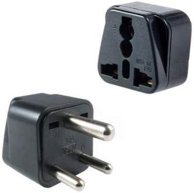 110V-220V USA to Pakistan Travel Adapter Power Socket Plug Converter Convertor