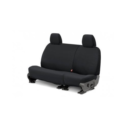 Charcoal SS7431PCCH Polycotton Covercraft SeatSaver Second Row Custom Fit Seat Cover for Select Jeep Wrangler Models