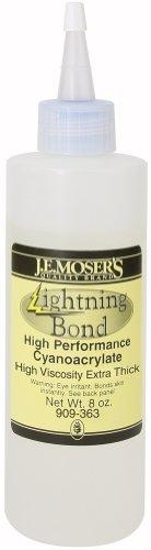 J.E. Moser's 909363, Adhesives, Instant, Thick Viscosity Lightning Bond