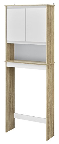 Ameriwood Home Stafford Storage Cabinet Weathered Oak by Ameriwood Home