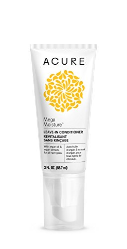 Acure Mega Moisture Leave-In Conditioner, 3 Fluid Ounces (Packaging May Vary)