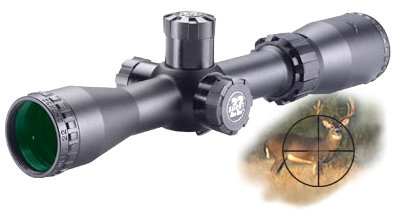 BSA 2-7X32 Sweet 22 Rifle Scope with Side Parallax Adjustment and Multi-Grain Turret
