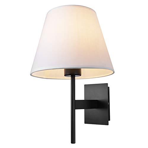 Indoor Bedroom Lamp with Fabric Shade, Wall Mounted Bathroom ...