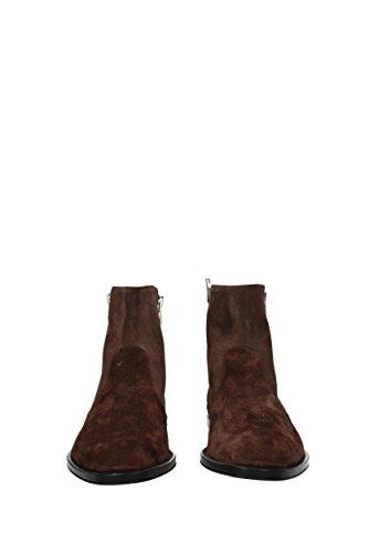 Givenchy Stivaletti Chelsea Uomo - Camoscio (BM08455945) EU Marrone