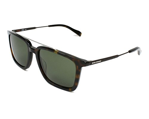 Boss Orange sunglasses (BO-0305-S 086/QT) Dark Havana - Silver - Green - Havana Sunglasses Orange