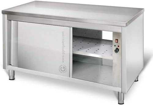 Wärmeschrank ECO - 1,6 m - mit Durchreiche