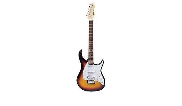 Peavey pvgra + TSB Raptor Plus S de guitarra Sunburst: Amazon.es: Instrumentos musicales