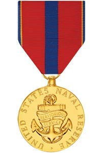 (Medals of America Naval Reserve Meritorious Service Medal Anodized)
