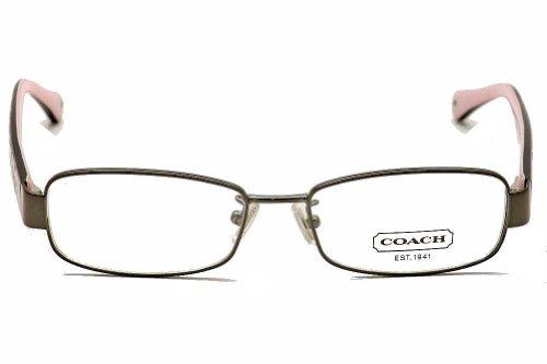3fd7e4bb1e150 Eyeglasses Coach HC5001 9021 DARK SILVER DEMO LENS  Amazon.in  Clothing    Accessories