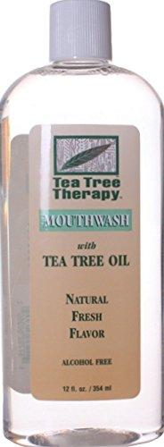 (Tea Tree Mouthwash, 12 fl oz (354 ml) (4/Pack))