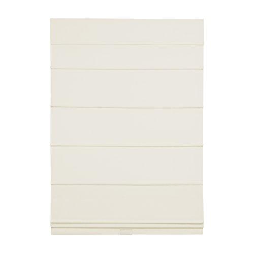 (Cordless Room Darkening Fabric Roman Shade (Bone, 31x64))