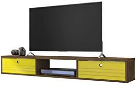 Manhattan Comfort Liberty Contemporary Living Room Wall Mounted Entertainment Center