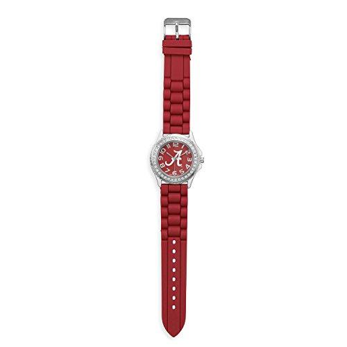 2017 Alabama Crimson Tide, Bama Red College-NCAA, Kids & Ladies Logo Football -Basketball Watch (Alabama Crimson Tide Ladies Watch)