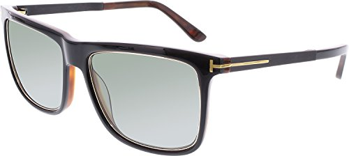 f2aa9f39f6a19 Tom Ford FT0392 KARLIE Sunglasses Shiny Black Polarized - Buy Online in  UAE.