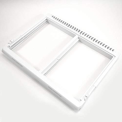 (241572503 Refrigerator Crisper Drawer Cover Frame Genuine Original Equipment Manufacturer (OEM) Part)