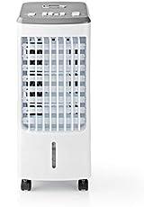 Nedis Nedis - Aircooler - Airconditioning - 3 Liter Capaciteit - 270 m³ / h - Krachtig - Efficiënt - Inclusief twee koelelementen 1.50 m Wit
