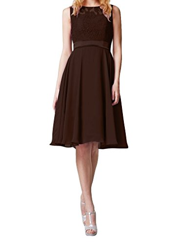 Brown Evening Gowns - 4
