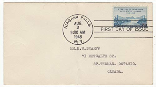 United States A Century of Friendship - Canada & USA Postage Stamp Original First Day Cover # 961 ()