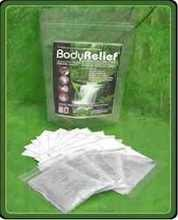 BodyRelief Foot Pads Package of 10 Patches from BodyRelief Detox Foot Pads