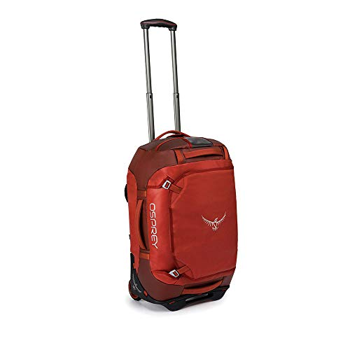 (Osprey Packs Rolling Transporter 40 Duffel Bag, Ruffian Red)
