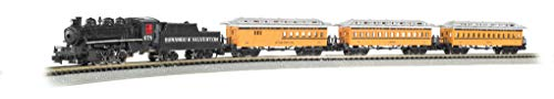 - Bachmann Trains - Durango & Silverton Ready To Run Electric Train Set - N Scale