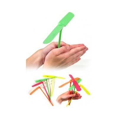 Flying Propeller Hand Powered Toy-Seasonal Toys: Toys & Games