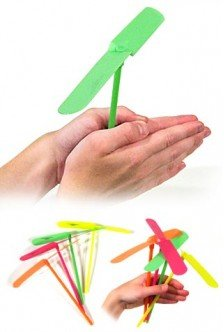 Flying Propeller Hand Powered Toy Seasonal Toys