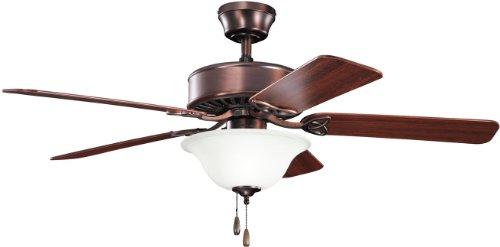 (Kichler 330110OBB 50-Inch Renew Select Fan, Oil Brushed Bronze)