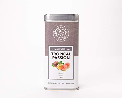 The Coffee Bean & Tea Leaf, Tea, Hand-Picked Tropical Passion, 20 Count Tin