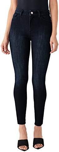 DL1961 Women's Farrow Ankle High Rise Instasculpt Skinny