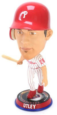 MLB Philadelphia Phillies Utley C. #26 Home 2010 Big Head Bobble by Forever Collectibles