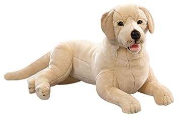 Carl Dick Peluche - Perro Labrador Retriever acostado (felpa, 65cm) [Juguete]