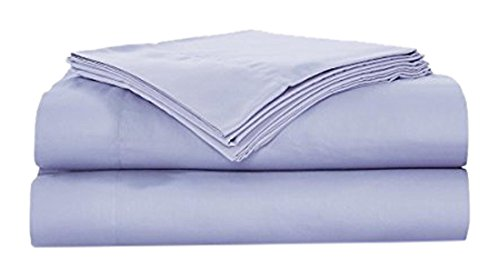 Natural Comfort RS300SS-Lilac-F Sausalito Night 300TC 100% Cotton Sheet Set, Full, Lilac ()