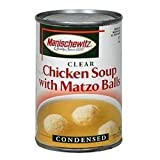 MANISCHEWITZ Matzo Balls in Chicken Broth, 10.5-Ounce Cans (Pack of 12) by Manischewitz